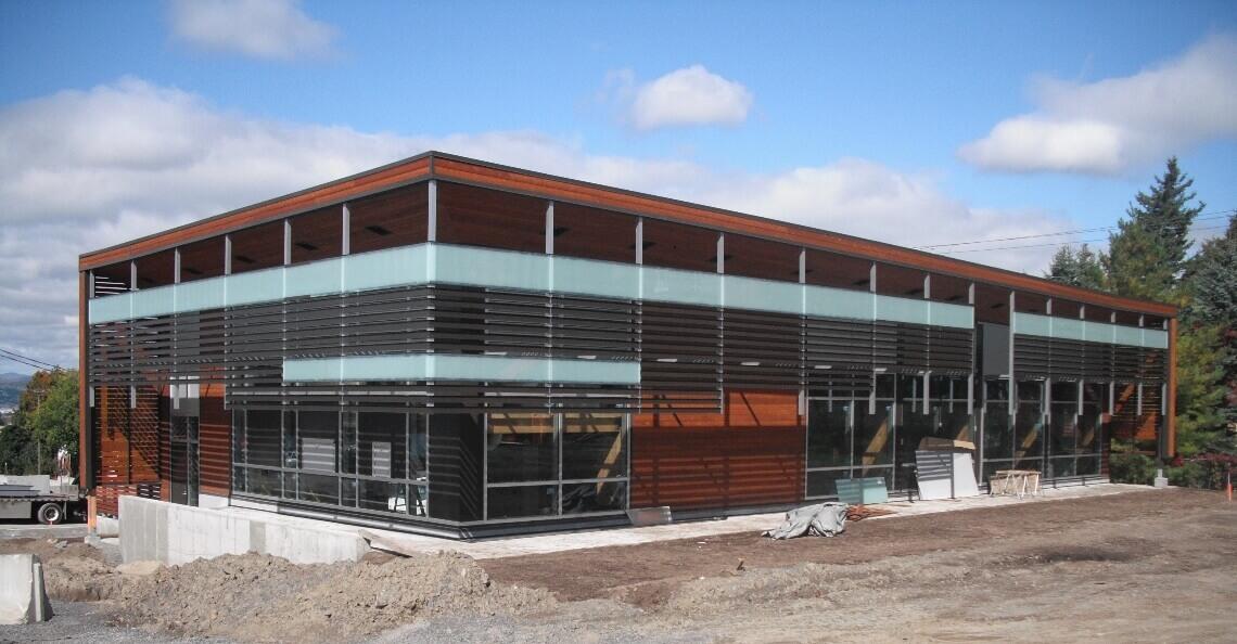 Bâtiment S, Cité Verte à Québec