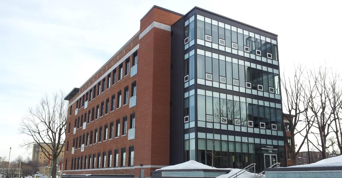 Bâtiment P, Cité Verte à Québec